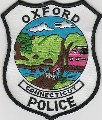 vintage run Oxford, Connecticut Police Dept patch  CT