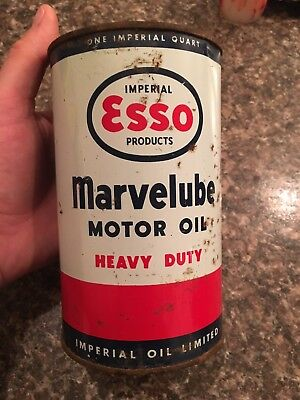 Esso Marvelube Heavy Duty Oil Can