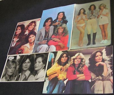 42 Classic TV Charlie's Angels posters - all 4 trios incl. Farrah Fawcett