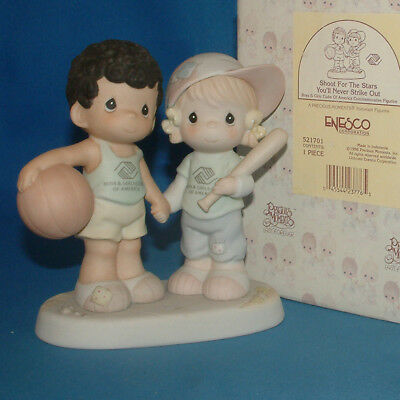 Precious Moments Figurine - pm 521701, Shoot For The Stars And You'll Never Str