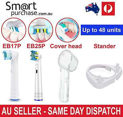 Replacement Toothbrush Electric Heads For Oral B Case Travel Cover Stander Y