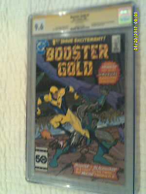 BOOSTER GOLD #1 // CGC SS 9.6 wp // 1985 Signed - 1st App of Booster Gold