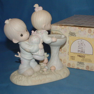 Precious Moments Figurine - pm 520675, Your Love Is So Uplifting w/box