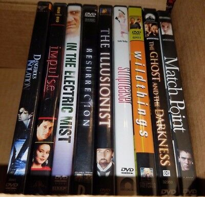 Selling HUGE movie collection - LOT 4 - THRILLER - OOP - RARE