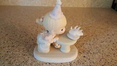 """Precious moments figurine """"May your every wish come true"""""""