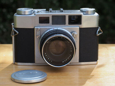 Olympus 35-S II 1.8 - mechanical rangefinder camera