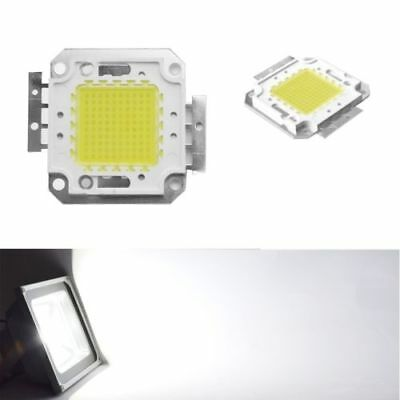100W Cool / Warm White High Power LED Panel Chip 9000LM 100 Watt Lamp Light NEW