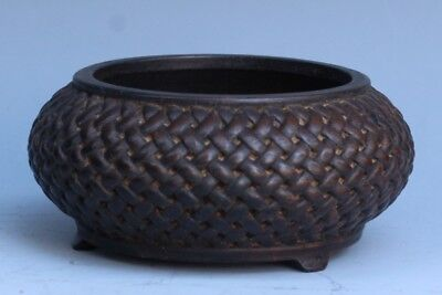 China Exquisite Hand-carved Wooden pot