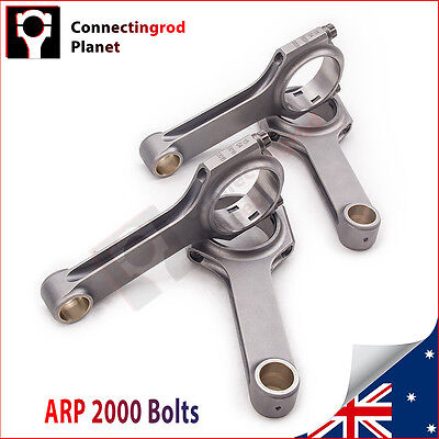 Con Rod Rods for Ford Kent Crossflow 4.928 125.17mm + ARP Bolts 800 BHP Bielle