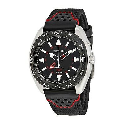 Seiko Mens Prospex Prospex GMT Analog Sport Kinetic Watch (Imported) SUN049P2