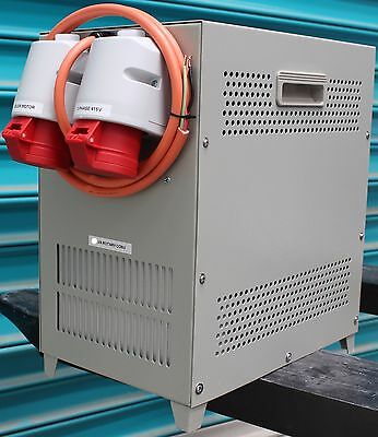 ASA 3kW Rotary phase changer conv 240V Single Phase supply to Three Phase 415V