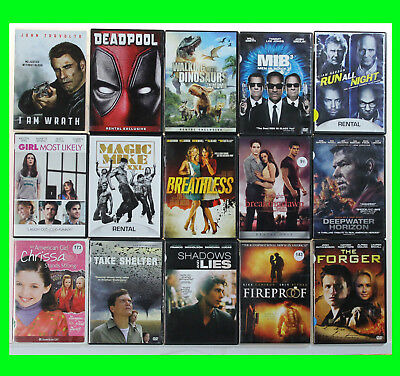 LOT of 15 DVDs Newer Titles Popular & Indie Movies good condition used dvds 005