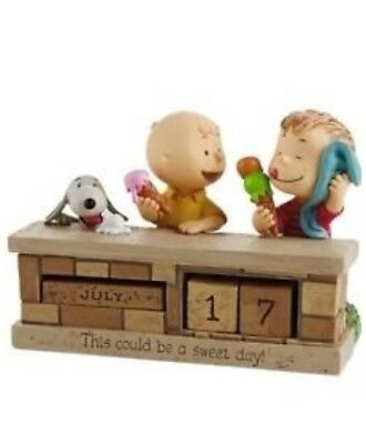 """Hallmark Peanuts """"This Could Be A Sweet Day"""" Perpetual Calendar"""
