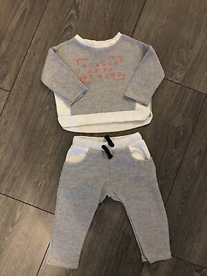 River Island Baby Boys Tracksuit 6-9months