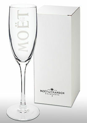 Boxed  Moet Chandon Champagne Glass / Flute