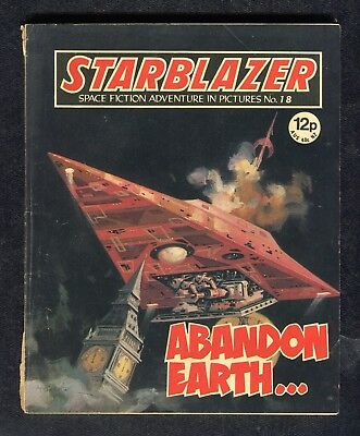1980: Starblazer Space Fiction No 18: Abandon Earth: Alexi Voskhod