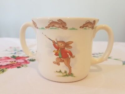 Royal Doulton Bunnykins two handled childs mug