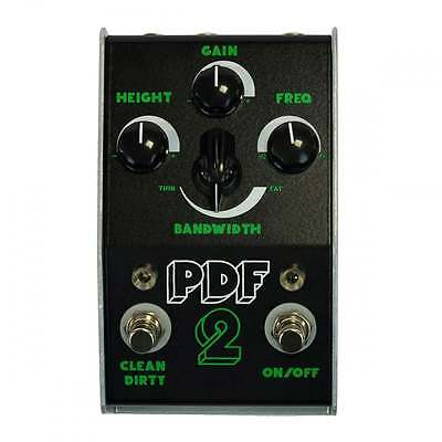 Stone Deaf Pedals PDF-2 Parametric Distortion Filter  - Brand New!