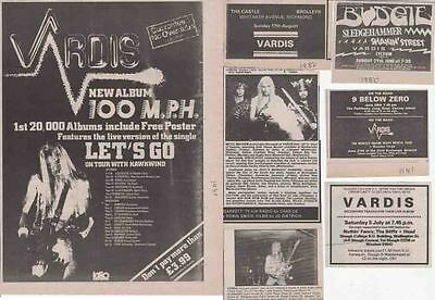 VARDIS : CUTTINGS COLLECTION -adverts-
