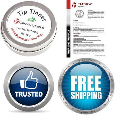 Tip Tinner Cleaner Welding Soldering Iron Prevent Oxide Thermaltronics Lead-Free