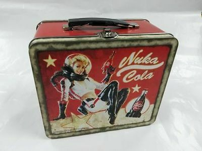 Fallout 4 Nuka Cola Lunch Box Tin Tote Lunchbox Limited Collectors edition NEW