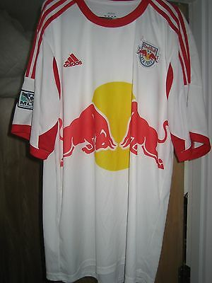 red bull new york football shirt No4 marquez mens size xl