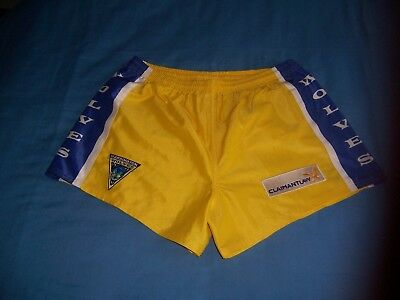 ISC Warrington Wolves Yellow Rugby Shorts sizeXL
