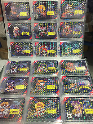 RARE Saint Seiya Prism Card Complete full set of 100/100