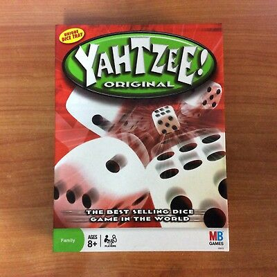 2008 Board Game - Yahtzee Original! 100% Complete