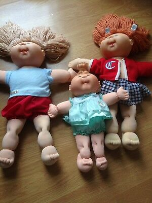 3 X Cabbage Patch Dolls