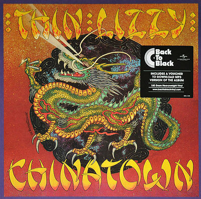 Thin Lizzy -Chinatown - Back To Black Audiophile 180 Gram Vinyl
