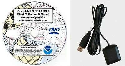 NOAA Nautical Charts GPS Marine Navigation Chartplotter Computer PC Laptop