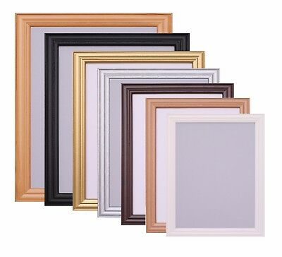 Photo Picture Frame Poster Black White Frame A1 A2 A3 A4 A5 10x8 6x4 Inch Frame