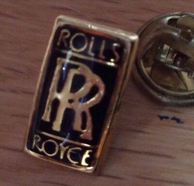 pin's pins lapel pins car automobile logo roll royce (proche du neuf)