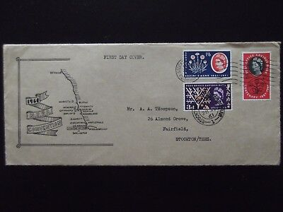 First Day Cover - 1961 Post Office Savings Bank