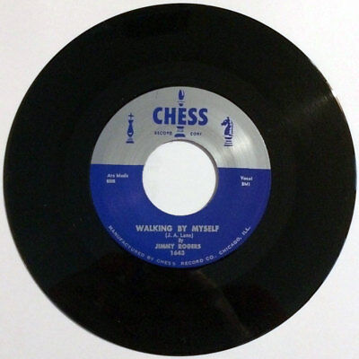 """Jimmy Rogers - Walking By Myself / If It Ain't Me 7"""" blues classic Chess repro"""