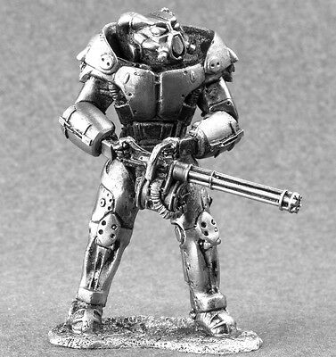 X-01 power armor Fallout 4 Metal 1/32 Figure Toy Soldiers 54mm Miniature