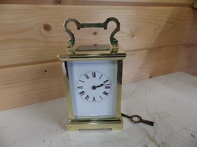 Large French Striking Carriage Clock Fully Restored Case & Movement Cirlc 1890