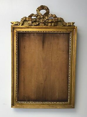 Antique 18th Century French Gilt Picture Frame