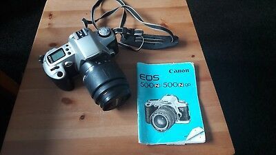 Canon EOS 500N 35mm SLR Film Camera with 35-80mm Lens