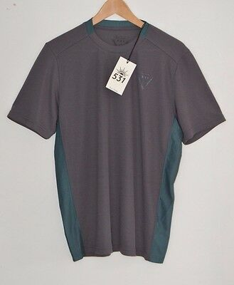PAUL SMITH 531 grey cycling base layer jersey t-shirt tshirt top bicycle LARGE