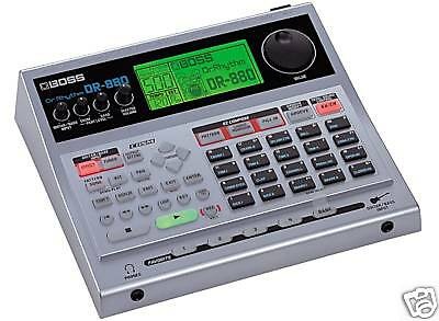 Boss Dr-880 Dr Rhythm Drum Machine + Manual & Power Supply
