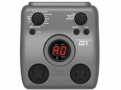 Zoom G1 Guitar Multi Effects Pedal With Manual & Power Supply