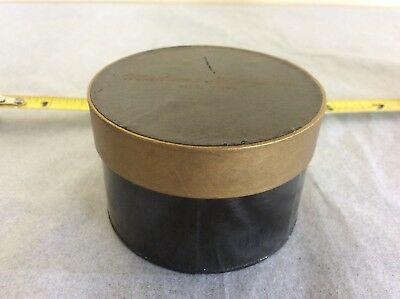 VTG Original Madame Alexander Cissy Black Gold Hat Box/Shoe Box 1950s Taged