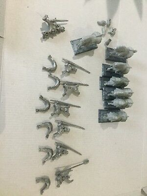 6 Warhammer Empire Knights Panther and Grand Master