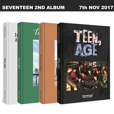 SEVENTEEN_TEEN AGE 2nd Album Random Ver. (1 of 4 ver) Photo book+Card+Stand+etc