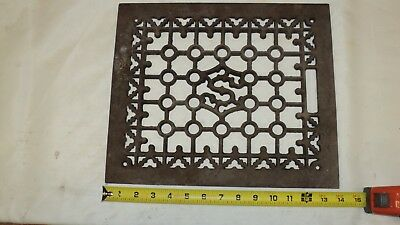 Antique Cast Iron Floor Grate
