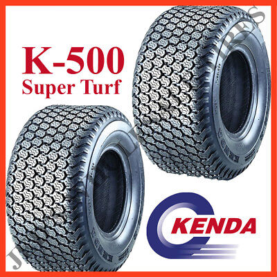 2 NEW 18x9.50-8 Lawn Riding Lawn Mower Garden Tractor Turf Tires 4ply DS7040