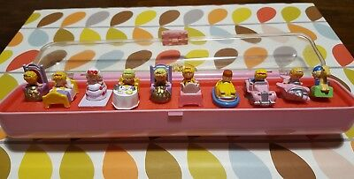 Polly Pocket Rings Case Collection 1989