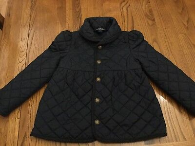Ralph Lauren Girls Coat size 5